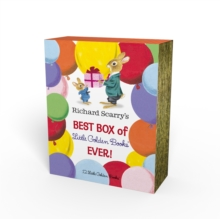 Richard Scarry's Best Box of Little Golden Books Ever!, Hardback Book