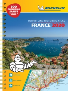 France 2020 - A3 Tourist & Motoring Atlas : Tourist & Motoring Atlas, Spiral bound Book