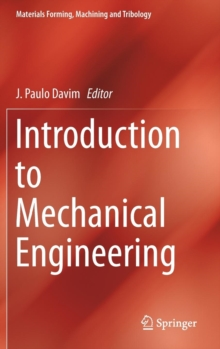 Introduction to Mechanical Engineering, Hardback Book