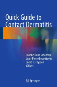 Quick Guide to Contact Dermatitis, Hardback Book