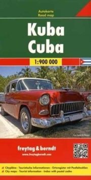 Cuba Road Map 1:900 000, Sheet map, folded Book