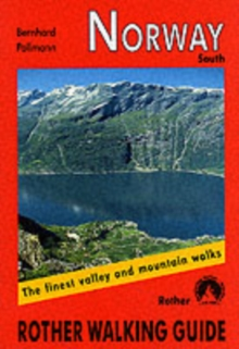 Norway South : Rother Walking Guide, Paperback Book