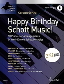 HAPPY BIRTHDAY SCHOTT MUSIC, Paperback Book