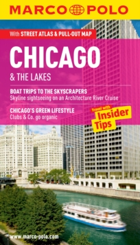 Chicago & the Lakes Marco Polo Guide, Paperback Book
