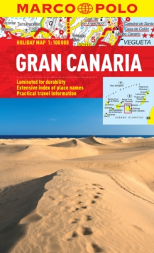 Gran Canaria Marco Polo Holiday Map, Sheet map, folded Book