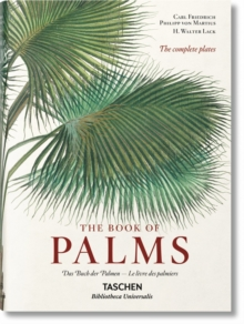 Martius. The Book of Palms, Hardback Book