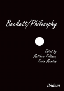 Beckett/Philosophy : A Collection, Paperback / softback Book