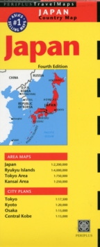 Japan Travel Map Fifth Edition, Sheet map, folded Book