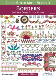 Borders: 300 New Cross Stitch Motifs, Paperback / softback Book