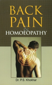 Back Pain & Homoeopathy, Paperback / softback Book