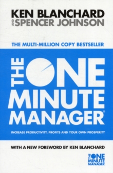 The One Minute Manager, Paperback Book