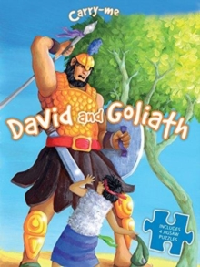 Carry Me Puzzle Book: David and Goliath, Board book Book