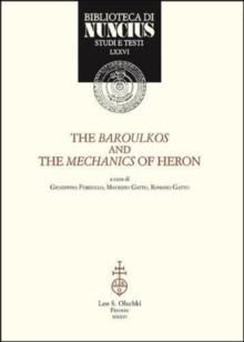 The Baroulkos and the Mechanics of Heron, Paperback / softback Book