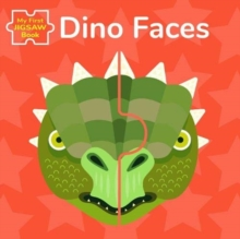 Dino Faces: My First Jigsaw Book, Board book Book