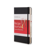 Moleskine Passion Recipe Journal, Notebook / blank book Book
