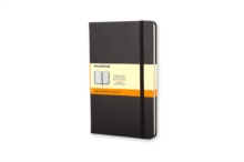 Moleskine Large Ruled Hardcover Notebook Black, Notebook / blank book Book
