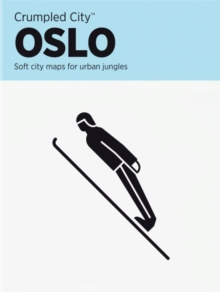 Oslo Crumpled City Map, Sheet map Book