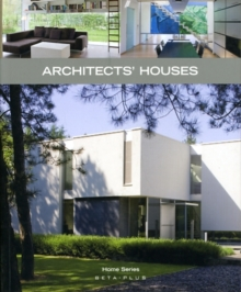 Architect's Houses, Paperback Book