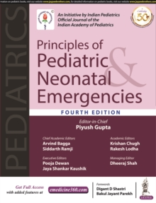 Principles of Pediatric & Neonatal Emergencies, Hardback Book