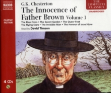 The Innocence of Father Brown : The Blue Cross. The Secret Garden. The Flying Stars and Other Stories v. 1, CD-Audio Book