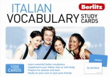Berlitz: Italian Vocabulary Study Cards, Cards Book