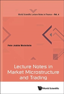 Lecture Notes In Market Microstructure And Trading, Hardback Book