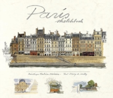 Paris Sketchbook, Hardback Book