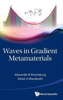 Waves In Gradient Metamaterials, Hardback Book