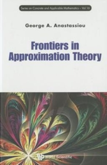 Frontiers In Approximation Theory, Hardback Book